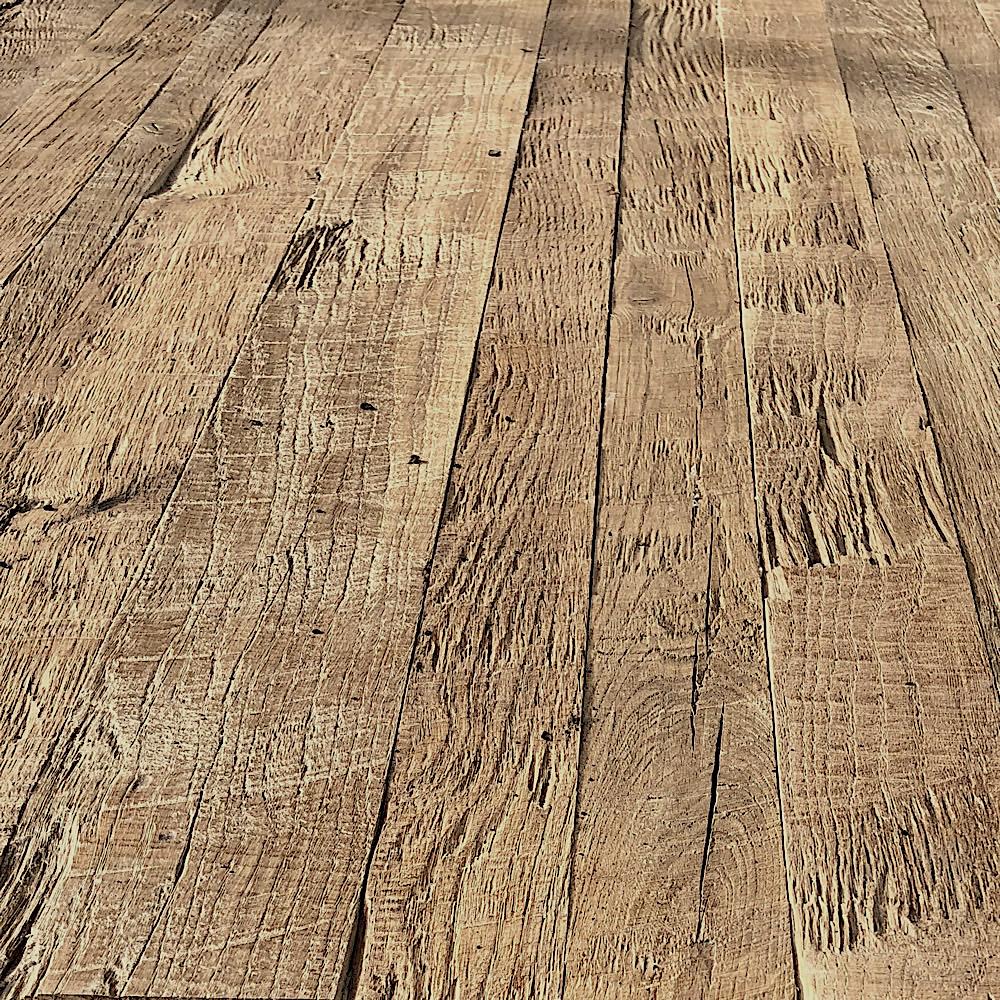 Vieux Plancher Bois - Plancher sur mesure vieux chene 180 ans