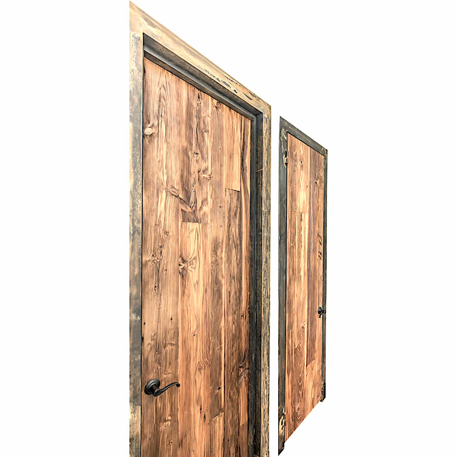 porte vieux bois brun a vendre. Black Bedroom Furniture Sets. Home Design Ideas