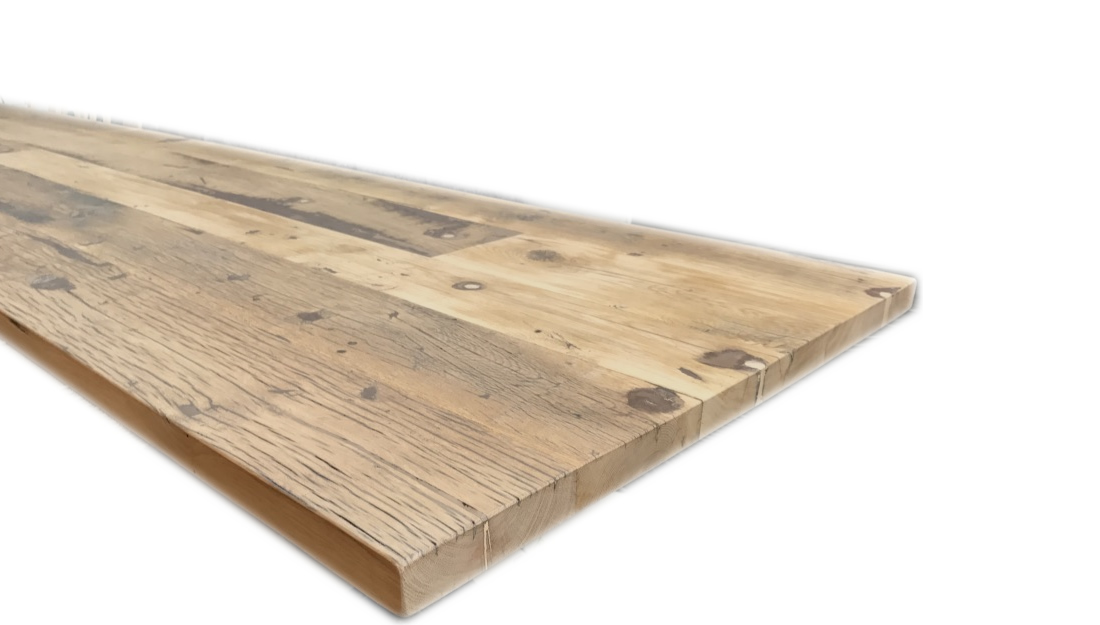 vente table fond de wagon chene. Black Bedroom Furniture Sets. Home Design Ideas