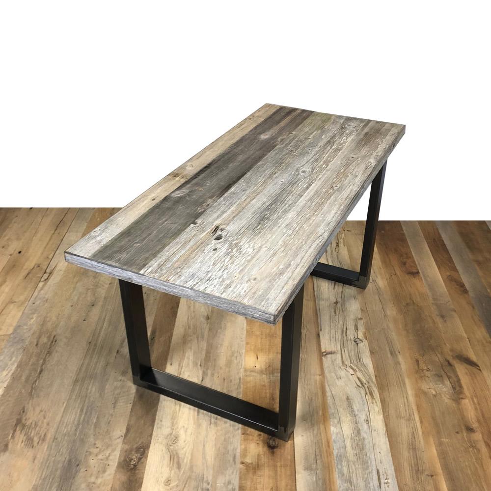 plateau de table bois ancien gris. Black Bedroom Furniture Sets. Home Design Ideas